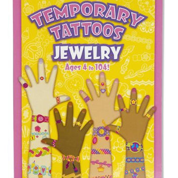 Melissa & Doug Temporary Jewelry Tattoos