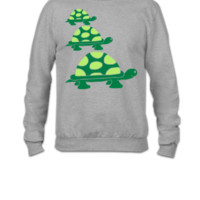 turtles - Crewneck Sweatshirt