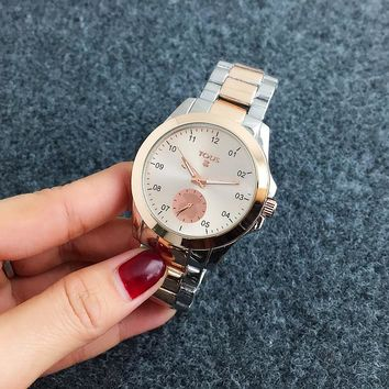 TOUS Hot Sale Vintage Fashion Classic Watch Round Ladies Women Men wristwatch On Sales 5-Color Rose gold silver G-Fushida-8899