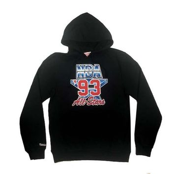Mitchell & Ness 1993 NBA All Stars Fleece Hoodie in Black