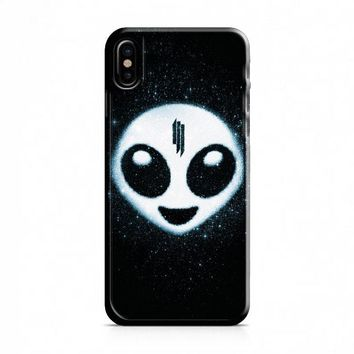 Skrillex Alien Emoji iPhone X Case