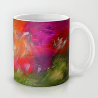 Flower Garden Mug by Jenartanddesign
