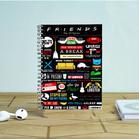 Friends Tv Show Photo Notebook Auroid