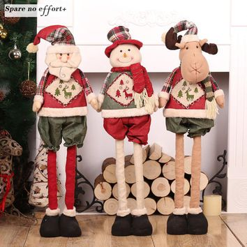 Christmas Dolls Christmas Toys Figurines Decoration Christmas Tree Ornament Xmas Noel Christmas Gift for Kids Adornos Navidad