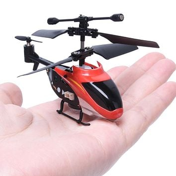Red Mini Aircraft (two versions) RC 2CH Mini rc Helicopter Radio Remote Control Aircraft Micro 2 Channel dropship AG8 p30