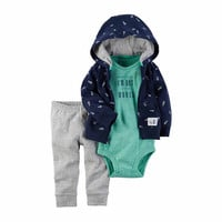Carter's 3-pc. Bodysuit Set-Baby Boys - JCPenney