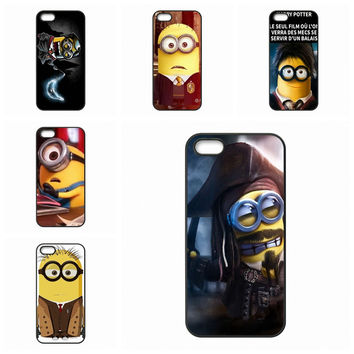 Accessories Hard Skin Minion Harry Potter For Apple iPhone 7 Plus For Huawei Honor 5C 5X 7 V8 P9 Lite Nexus 6P