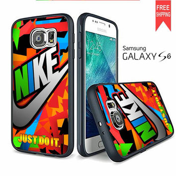 Nike Full Color Samsung Galaxy S6 edge Case
