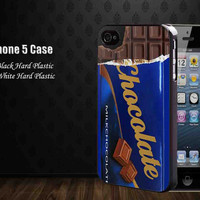 Chocolate bar skin,Iphone 5 case,accesories case,cell phone