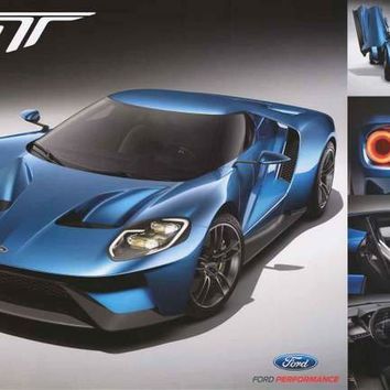 Ford GT 2017 Poster 24x36