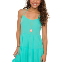 Frances Dress - Mint
