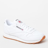 Reebok Classic Leather White Shoes at PacSun.com