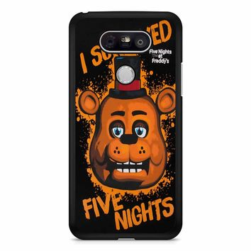 Five Nights At Freddy S I Survived LG G5 Case