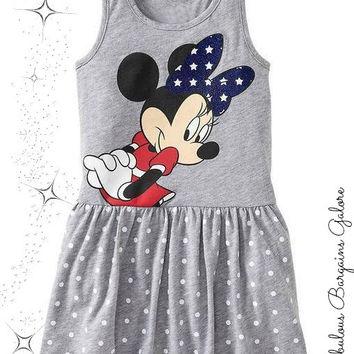 Minnie Mouse grey dress