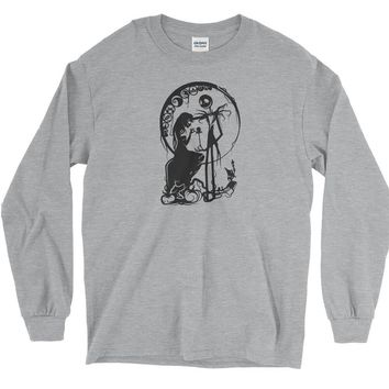 Sally and Jack Skellington Long Sleeve T-Shirt