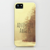 Adventure Awaits II iPhone Case by Rachel Burbee | Society6