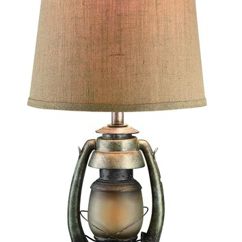 Oil Lantern Table Lamp