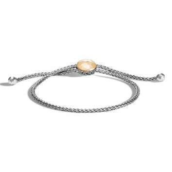 John Hardy Classic Chain Hammered Pull Through Braclet | Nordstrom
