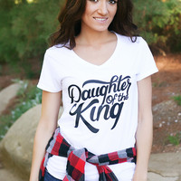 Daughter of the King Tee - White