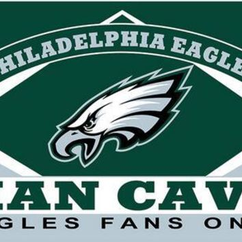 Philadelphia Eagles flag man cave banner 100D   3x5FT