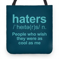 Haters Definition