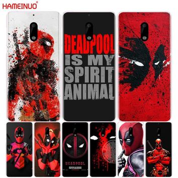 Deadpool Dead pool Taco HAMEINUO Cool Marvel Hero  cover phone case for Nokia 9 8 7 6 5 3  Lumia 630 640 640XL 2018 AT_70_6