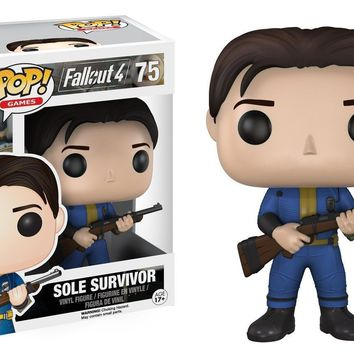 Sole Survivor Fallout 4 Funko Pop! Vinyl Figure #75