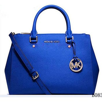 Michael Kors MK Women Fashion Leather Satchel Crossbody Shoulder Bag
