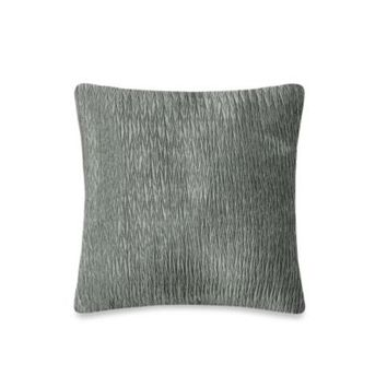 Rochelle Decorative 20-Inch Square Toss Pillow in Light Grey