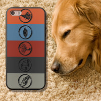 Divergent Logo for iPhone 4 4S iPhone 5 5S 5C and Samsung Galaxy S3 S4 Case