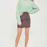 Poppy Jacquard Mini SKirt