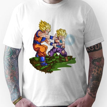 Dragon Ball Z Goku and Teen Gohan SSJ2 Unisex T-Shirt