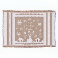 #Custom #Winter #Snowman Throw #Blanket #christmas
