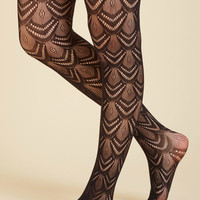 Fan the Fame Tights in Black