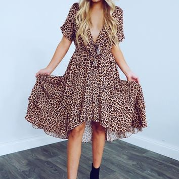Trendy In The City Dress: Cheetah