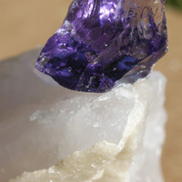 Merlin Purple Andara Crystal Specimen