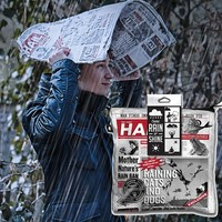 Manbrella Waterproof Newspaper