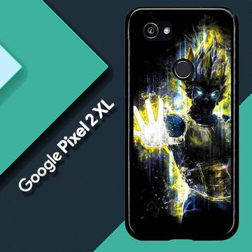 Dragon Ball Z Vegeta Bad Man Saiyan Prince L1405 Google Pixel 2 XL Custom Case