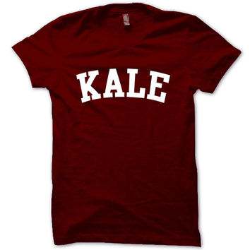 KALE Shirt Flawless T-Shirt Black White Gray Maroon Unisex T-Shirt Tee S,M,L,XL #1