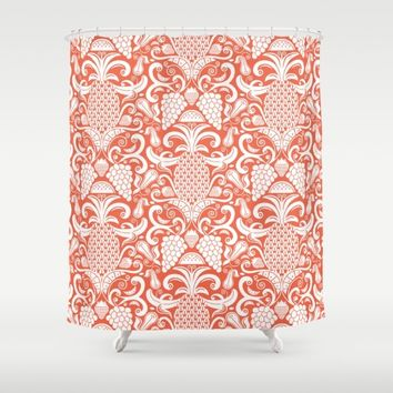 Ambrosia Shower Curtain by Heather Dutton