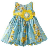 Jelly The Pug Baby Girls' Poem Bubble Dress