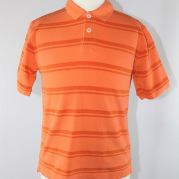 Boys Cherokee Striped Polo Short Sleeve Top, size Small