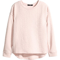 H&M Textured Sweatshirt $14.95