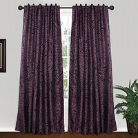 Park B. Smith® Cabbage Rose 84-Inch Tab Top Window Curtain Panel