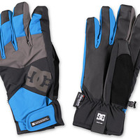 DC Seger Methyl Blue 10K 2014 Snowboard Gloves