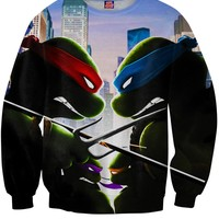 Turtle Power Crewneck Sweatshirt