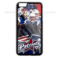 New England Patriots NFL iPhone Samsung 6 6s 7 8 X Plus Edge Hard Plastic Case