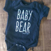 Baby Bear Onesuit and tshirt