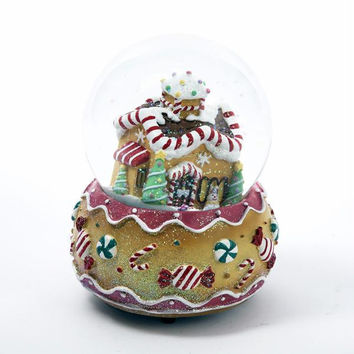 Christmas Snow Globe - Gingerbread House