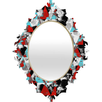 Caleb Troy Two Strip Geo Baroque Mirror